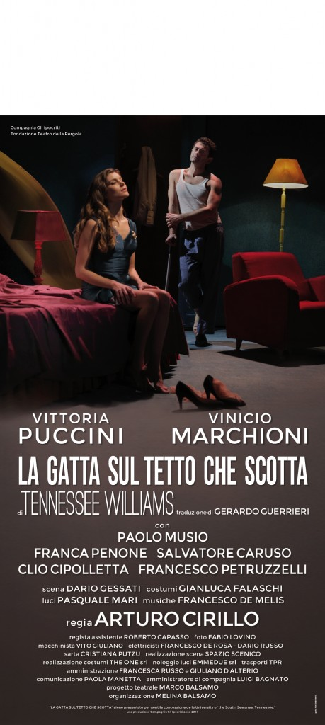 La gatta LOCANDINA 4-01-1
